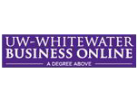 University of Wisconsin-Whitewater - College of Business and Economics - Graduate Logo